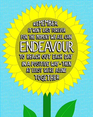 Remember It Won't Last Forever (Sunflowe