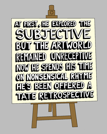 At First He Explored The Subjective (INS