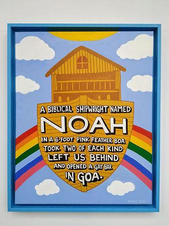 A Biblical Shipwright Named Noah - Angry