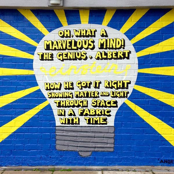 Angry Dan Limerick Mural at Gnome House