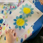 Ella Schmidt - 2_Blüten malen mit Acrylf