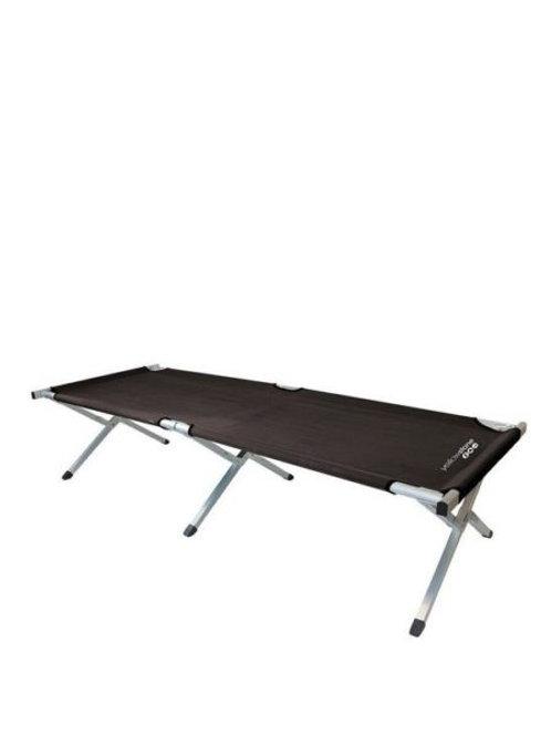 Folding Camp Bed Black