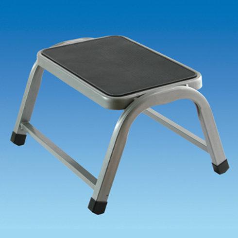 Silver/Grey Single Steel Step