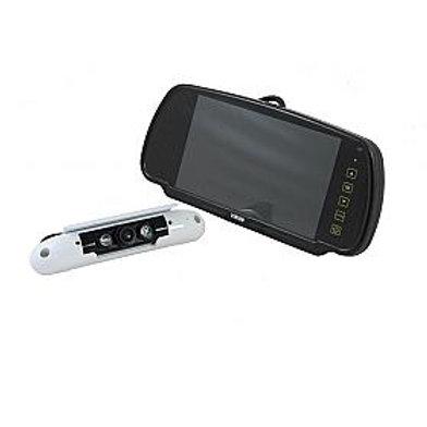 "7"" Clip-over Mirror Monitor / Slim-line Camera System"
