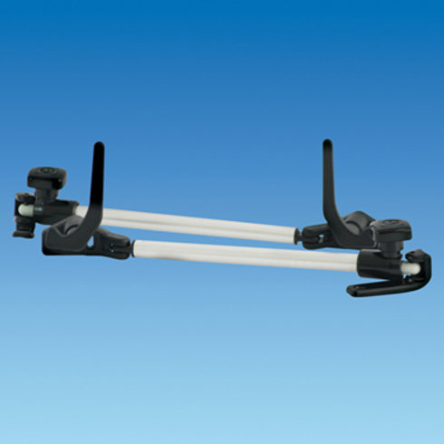 200mm Tube Stay, Black End, Lever Lock