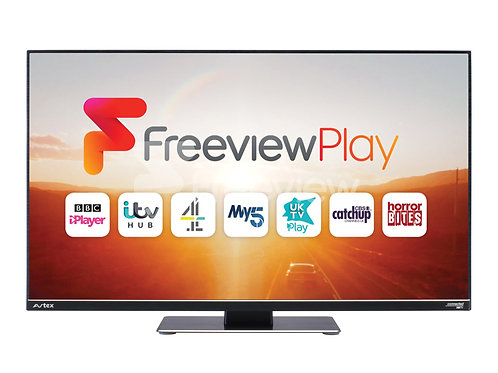 "Avtex 21.5"" TV Freeview Play Satellite Decoder Full HD"