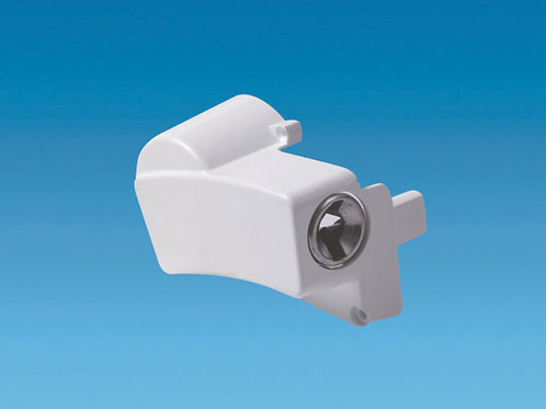 Complete White Lefthand End Cap