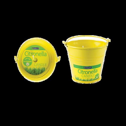 Citronella Metal Bucket Candle