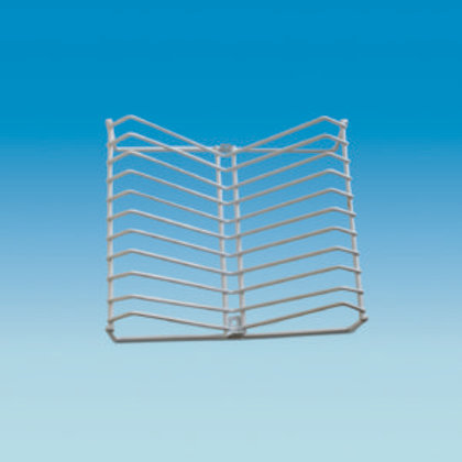 Wire Plate Rack – Plastic Coated