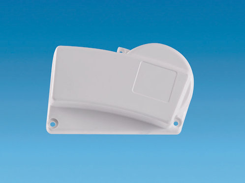 Awning Spares – WHITE Righthand End Cap