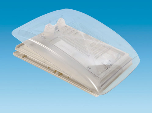 CLEAR 280 x 280 Rooflight c/w Flynet – Beige