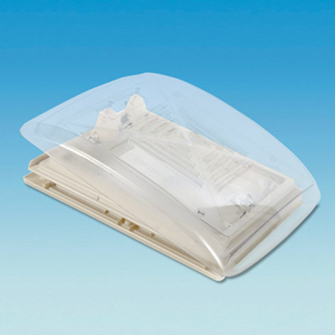 CLEAR 400 x 400 Rooflight c/w Flynet – Beige