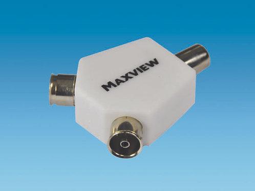 Maxview TV 2 Way Angled Splitter/Combiner