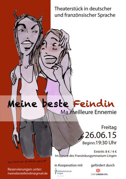 """Meine beste Feindin - Ma meilleure ennemie""""e"""