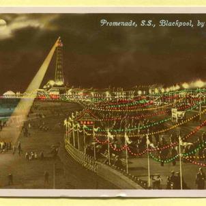 Blackpool Promenade at Night