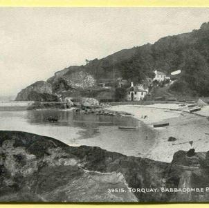 Torquay Babbacombe Beach