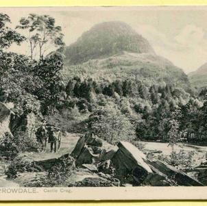Borrowdale Castle Crag