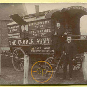 Church Army Van The Worcester III