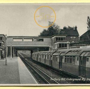 Sudbury Hill Underground Railway Station