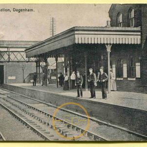 Dagenham Railway Station c 1909