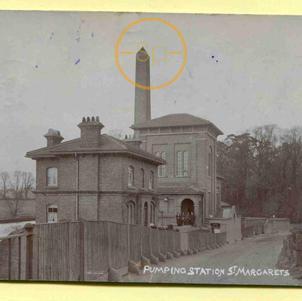 Pumping Station River Lea near Hoddesdon
