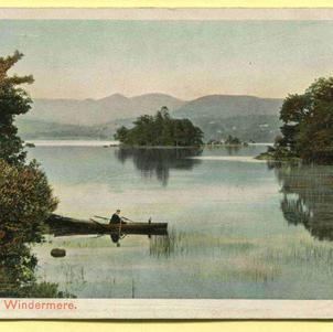Islands on Windermere