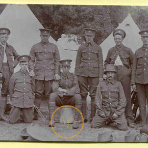 WW1 Military Soldier group