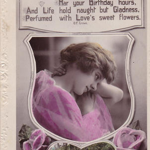 Pretty but worthless Greetings Card