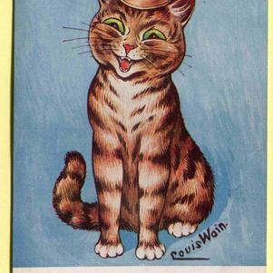 Louis Wain Cats Cheer Up