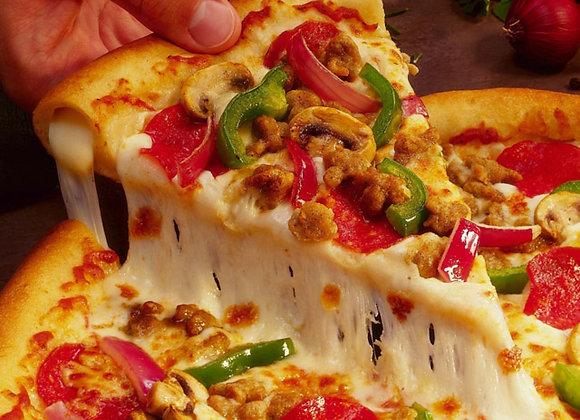 Aprende a hacer Pizzas Artesanales en casa -  Mamma Mia!  para dos personas