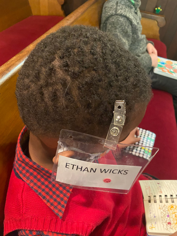Please wear your name tag - one creative