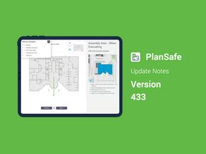 PlanSafe Update - V433