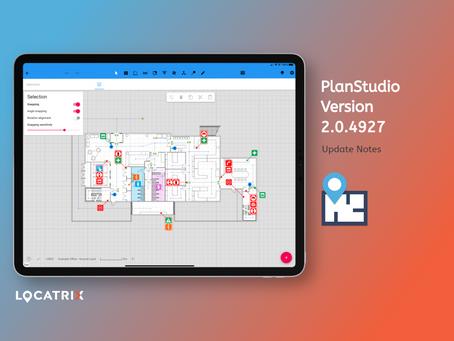 PlanStudio Update - V2.0.4927