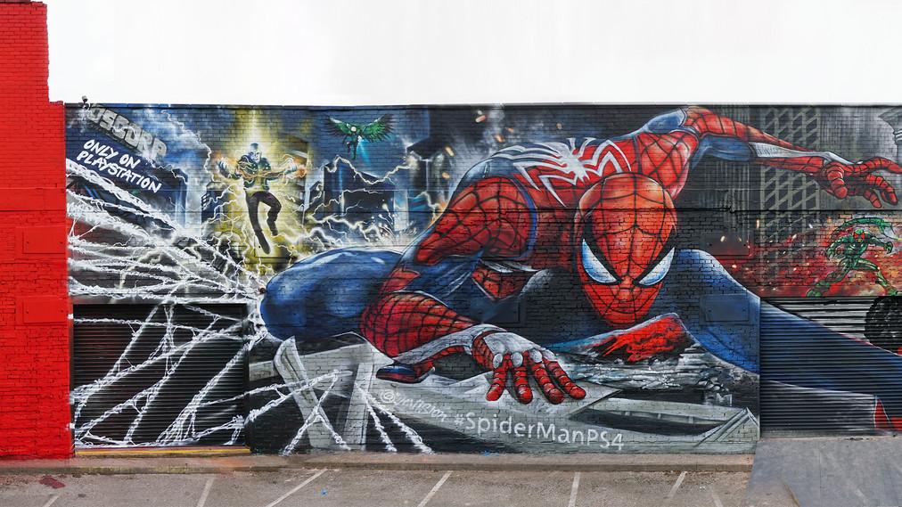 Carpintero de Spider-Man PS4