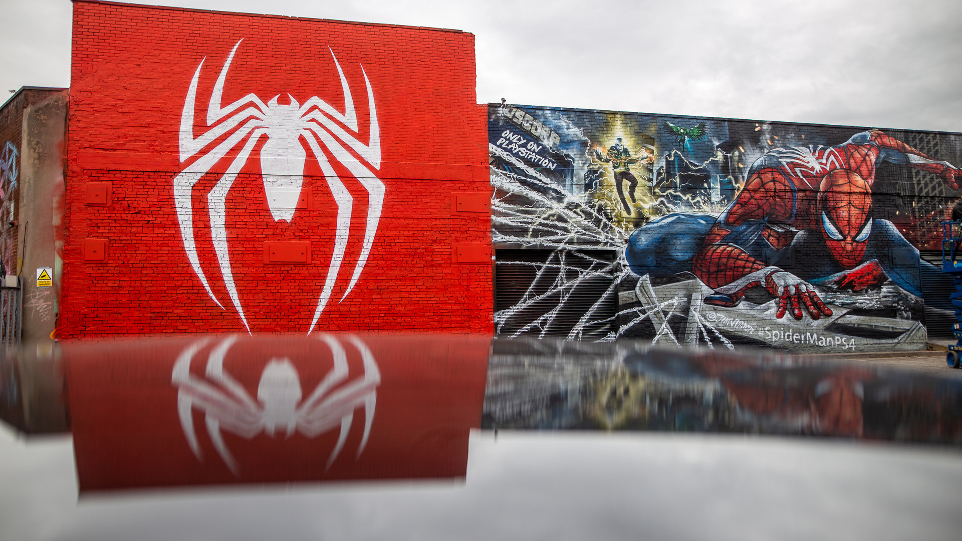 Spider-Man Reflection