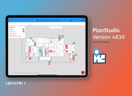 PlanStudio Update - V2.0.4830