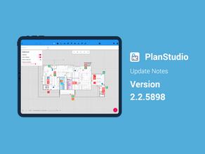 PlanStudio Update - V2.2.5898