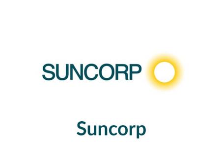 Suncorp - Case Study