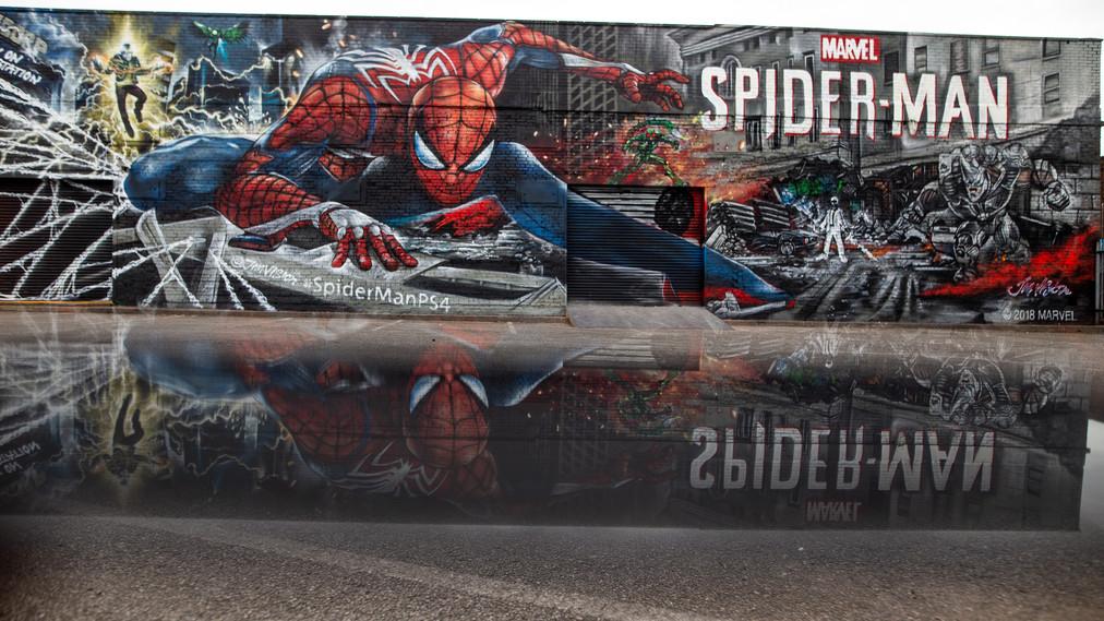 Reflexión de Spider-Man