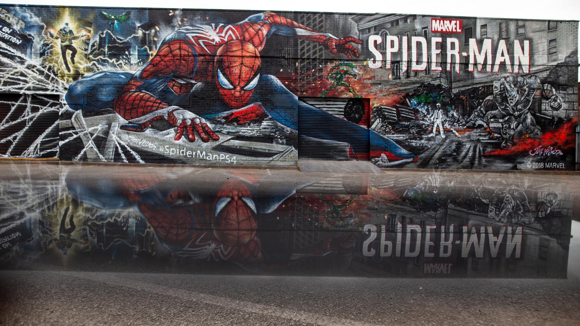 Spider-Man Reflection