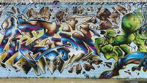 New Savage Marvel Mural : Jim Vision & Teckno