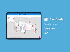 PlanStudio Update - V2.4