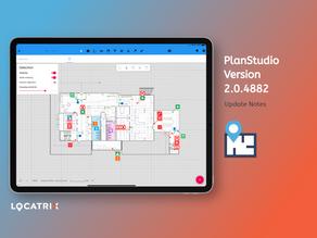 PlanStudio Update - V2.0.4882