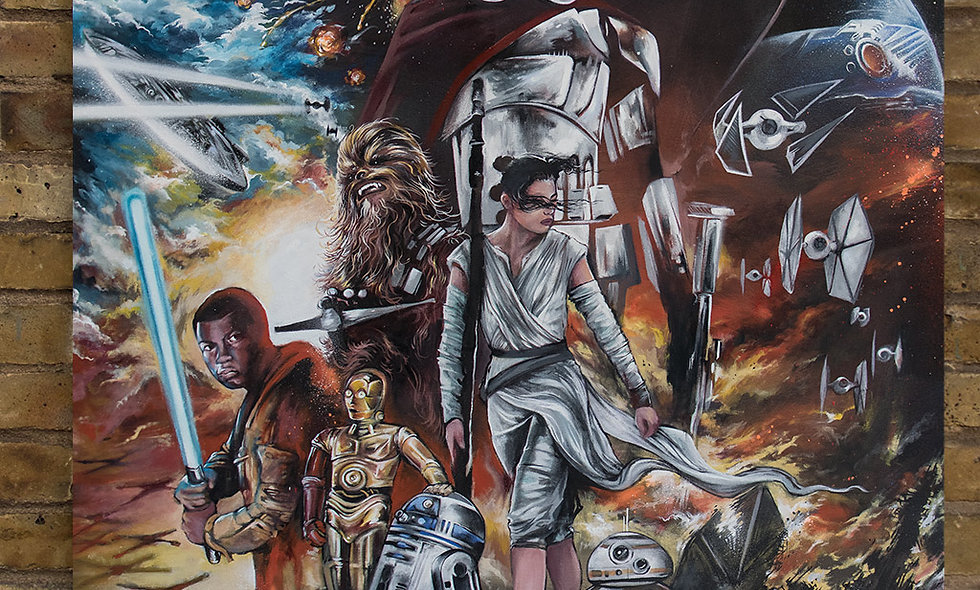 The Force Awakens Print