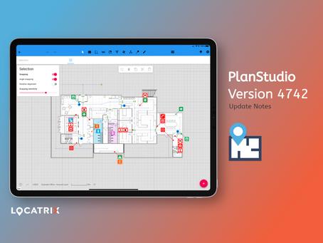 PlanStudio Update - V4742