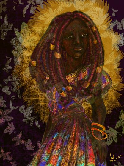 Queen Nzinga of Ndongo Portrait
