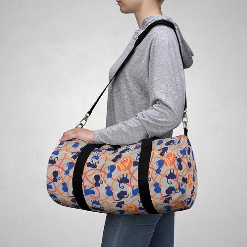 Kitty Pattern Duffel Bag