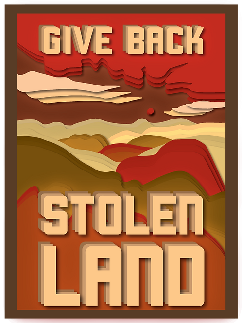Give Back Stolen Land