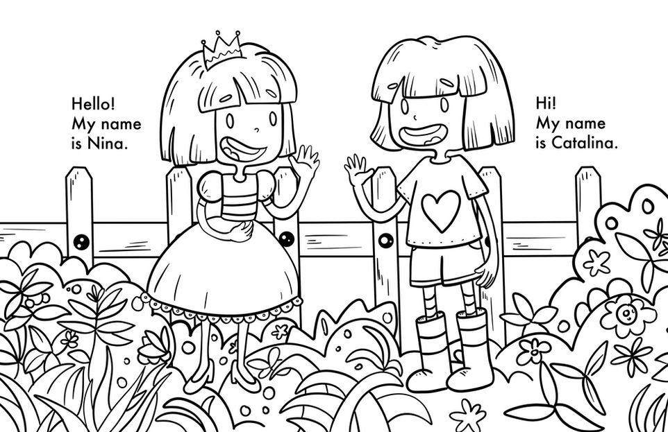 The Coloring Book Adventures of Nina and Catalina Intro