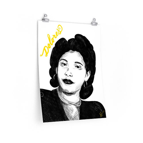 Abuela with Name Poster 18x24
